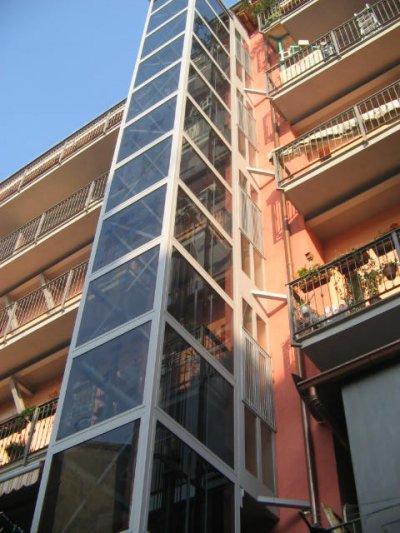 Incastellatura per ascensori - Costo ascensore esterno 1 piano ...