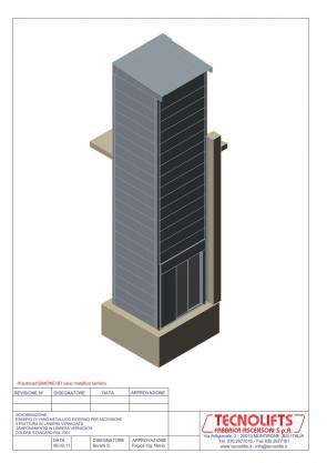 Incastellatura per ascensori - Costo ascensore esterno 3 piani ...